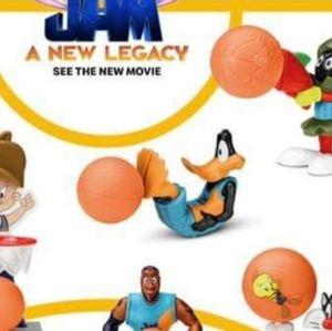 Space Jam Movie Daffy Duck McDonald's Toy